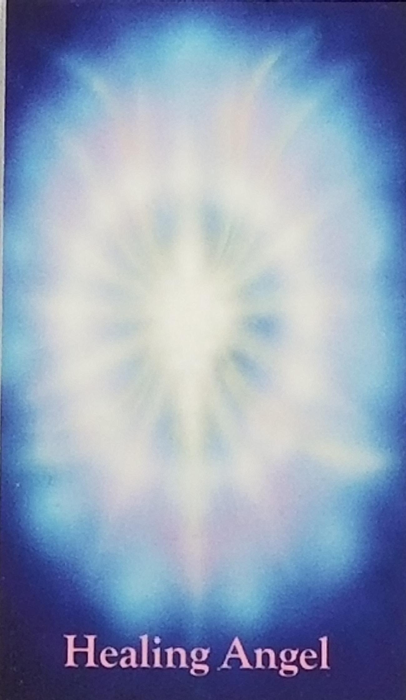Healing Angel wallet sized card