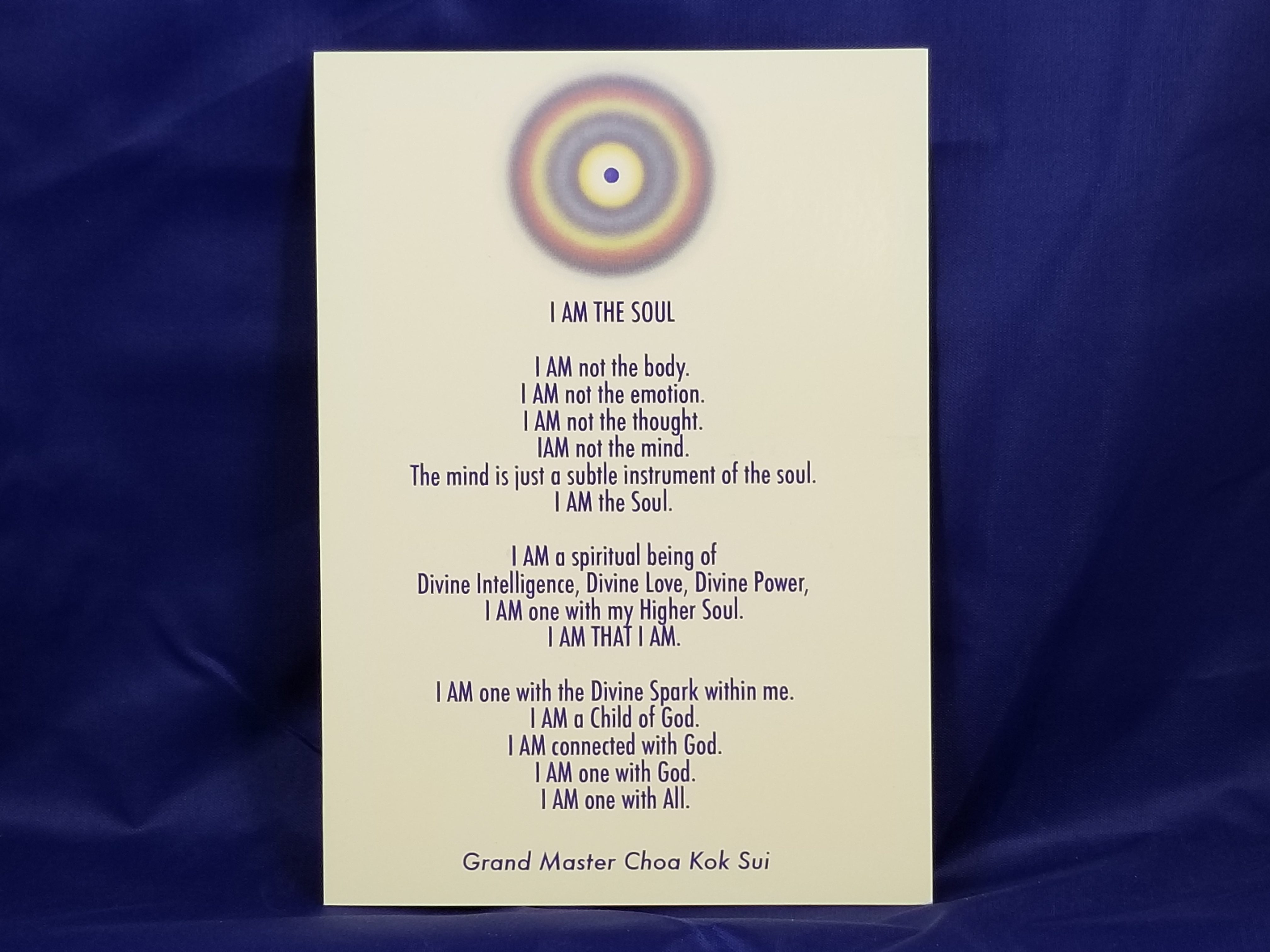 I Am The Soul Card (5″ x 7″)