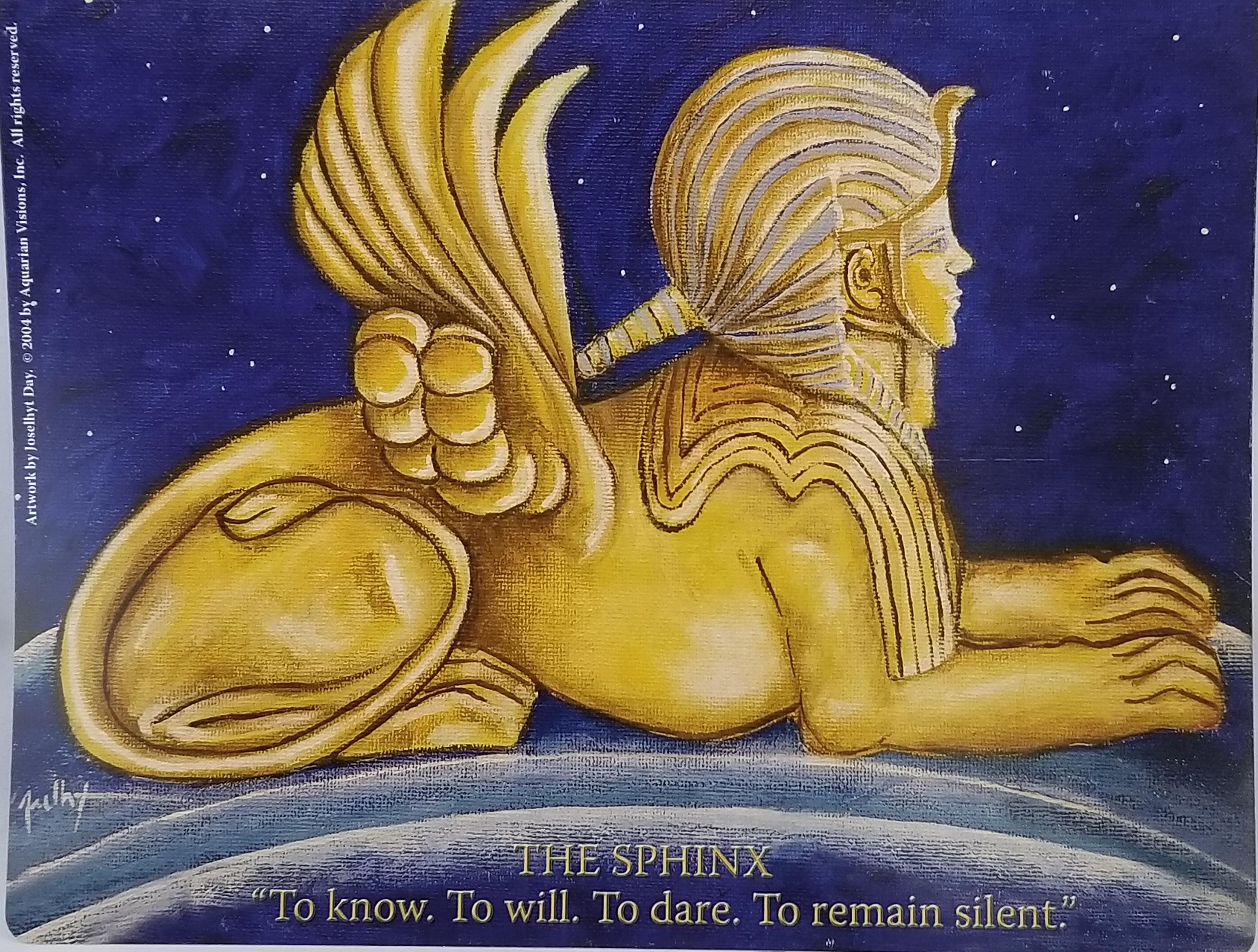 Sphinx (8.5″ x 11″)